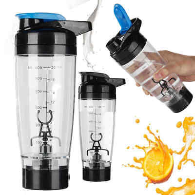 600ml Electric Shaker Cyclone Cup Protein Tornado Automatic Mixer Fitness Bottle