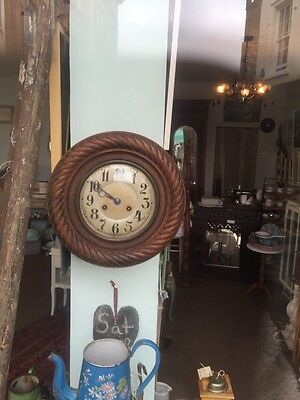 French Antique Wall Clock