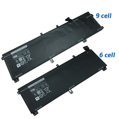 New Laptop Battery For Dell XPS 15 9530 Precision M3800 H76MV 7D1WJ 245RR T0TRM