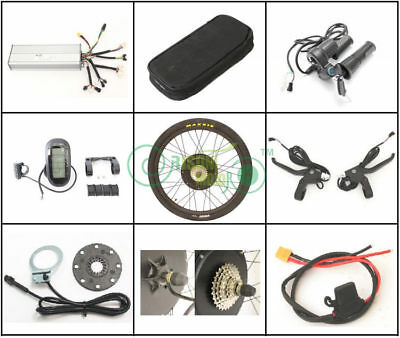 "EU Stock Tax Free!!! 48V 1500W 26"" Threaded Rear Wheel Ebike Conversion Kit"