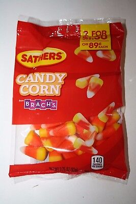 2 x Sathers CANDY CORN 92g each bag