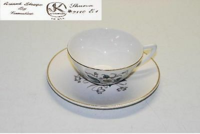 6 Edwin Knowles Sharon Cup Cups & Saucer Saucers