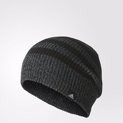 ADIDAS 3S Beanie Hat - Sizes MEN & YOUTH Boys Loose Fit Knit (120177)