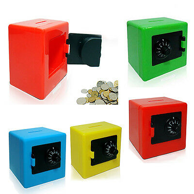 Combination Lock Code Safe Money Box Coins Cash Saving Piggy Bank Gift Popular N