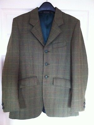 Boys Youths Tweed Hacking Jacket Immaculate