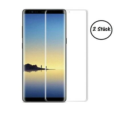 Für Samsung Galaxy Note 8, S8+ 3D Full Panzerglas gebogenes Panzer Glass Curved
