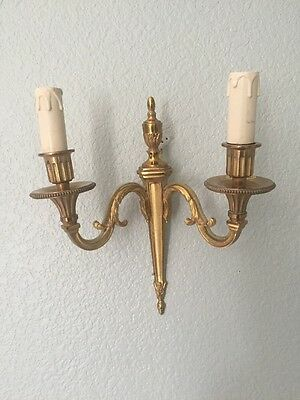 Vintage French Wall Sconces