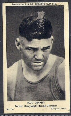 A&bc-All Sports-#116- Boxing - Jack Dempsey