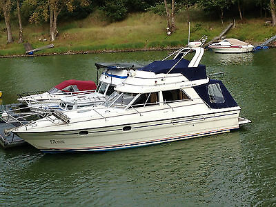 Princess 330 Flybridge Halbgleiter, Bj 1988