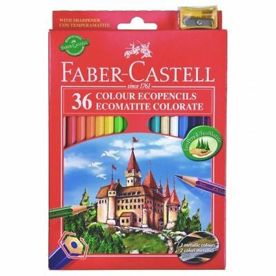 Matite Colorate Faber Castell Scatola 36 Pastelli Colorati