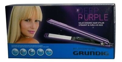 Grundig HS 5032 Deep Purple Line Keramik-Hairstyler (Straight & Curls) Violett
