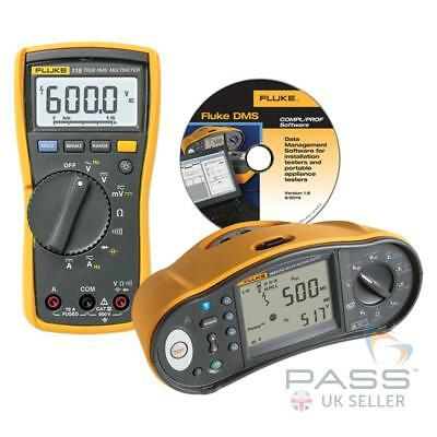 *EXCLUSIVE* Fluke 1664FC Multifunction Tester w/ FREE Fluke 115 & DMS software