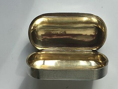 Mint Solid Silver and Gilt S. Mordan & Gadbrielle Riddle S.M.G.R. Snuff Box 1835