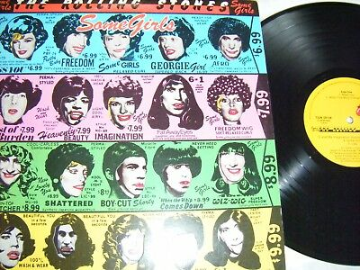 The Rolling Stones - Some Girls Lp,  Org Uk Press, Ex.