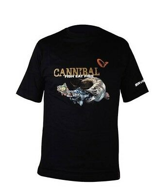 Savage Gear Cannibal T-Shirt Angelshirt Shirt Herrenshirt Oberbekleidung