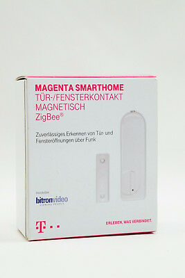 telekom smart home fensterkontakt magnetisch zigbee stick magenta homematic eur 3 50. Black Bedroom Furniture Sets. Home Design Ideas