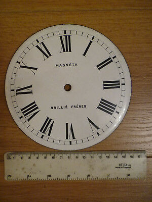 """6 1/4"""" Enamel Dial For an Electric Clock"""