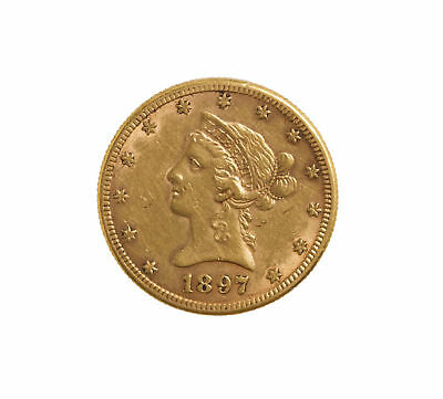 1897-S Gold $10 Liberty Head Coin