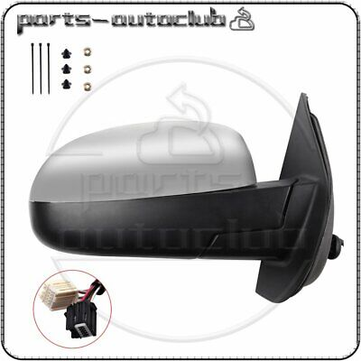 Right Power Memory Heated Chrome Signal Passenger Mirror for 2007-2014 Chevy GMC