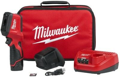 Milwaukee M12 12 Volt Lithium-Ion Cordless Thermal Imager Temperature Meter Kit