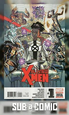 ALL NEW X-MEN ANNUAL #1 (MARVEL 2016 1st Print) COMIC