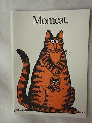 Kliban Cat Momcat Greeting Cards Blank 8 with envelopes Cartoon Cat