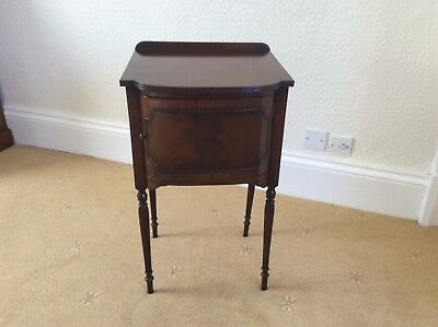 Antique Victorian  Bedside Cabinet Pot Cupboard