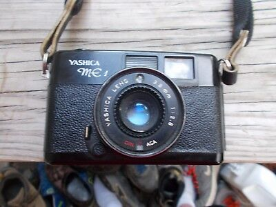 Yashica ME1 Film Camera With Yashica 38mm Lens Free Shipping