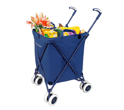 Versacart Shopping Cart Open Box Lighty Used Folding Utility Cart Free Shipping