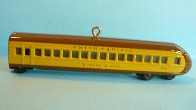 "2010 Hallmark ""UNION PACIFIC STREAMLINER BUFFET COACH"" Lionel"