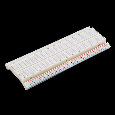MB-102 Solderless Breadboard Protoboard 830 Tie Points 2 buses Test Circuit BO