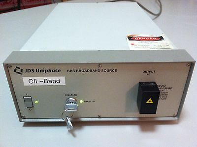 JDSU JDS Uniphase BBS1560+1FA Broadband Laser Source 1530-1559nm 11.21mW