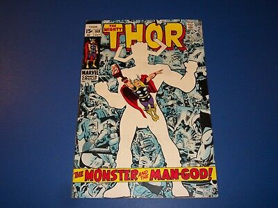 The Mighty Thor #169 Silver age Galactus Origin Fine Beauty Wow