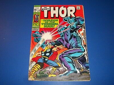 The Mighty Thor #170 Bronze Age Solid VG-