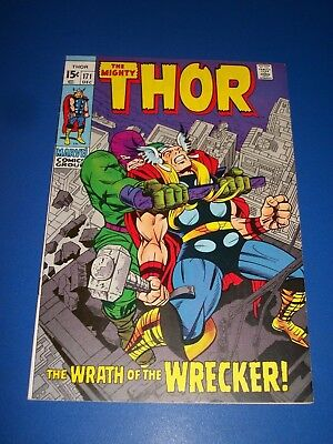 The Mighty Thor #171 Bronze age Wrecker Great Cover VF Beauty