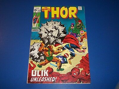The Mighty Thor #173 Silver Age Solid VF- Beauty