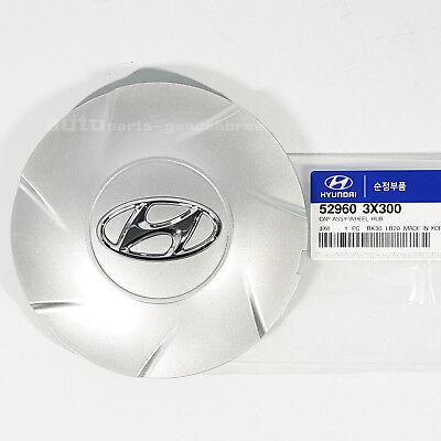 "529603X300 17"" Wheel Center Hub Cap Cover Silver 1PCS For ELANTRA MD 11-13"
