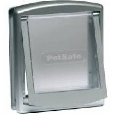 Porte Petsafe Staywell à 2 positions blanc pour chat ou chien 7 kg