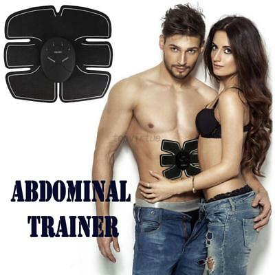 EMS Muscle Training Gear ABS Trainer Fit Body Exercise Shape Home Fitness