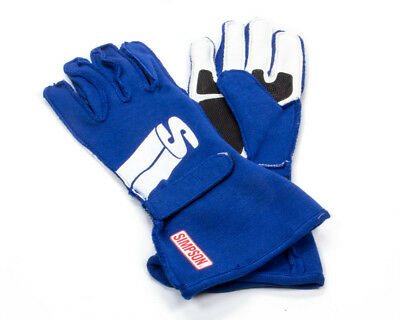 SIMPSON SAFETY XX-Large Blue Double Layer Impulse Driving Gloves P/N IMZB