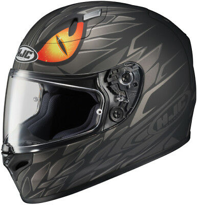 HJC FG-17 Mamba Full Face Helmet MC-5 - Flat Black Small 0000218935 636-852