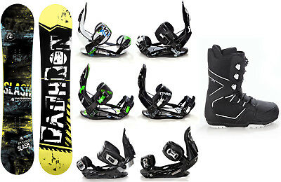 Snowboard Pathron Slash + Raven Bindungen + Boots Raven Explorer - Neu!