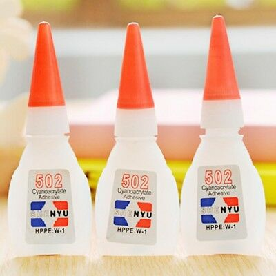 2/5/10pcs 502 Super Glue Cyanoacrylate Adhesive Strong Fast Repair Tool