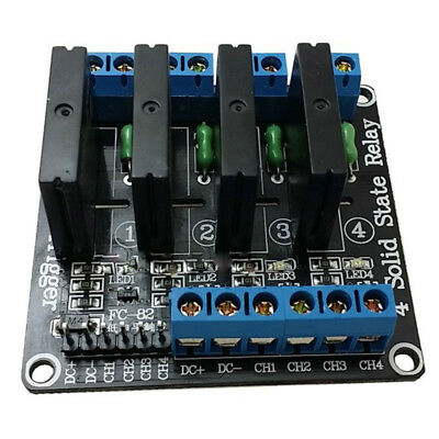 15X(1pcs 5v 4 Channel OMRON SSR G3MB-202P Solid State Relay Module For Arduino P