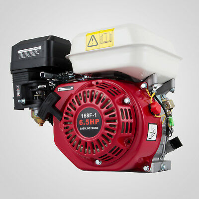 6.5HP Petrol Stationary Engine 4 Stroke Horizontal Shaft Manual 3.6L Fuel AU