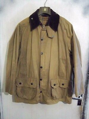 Classic Barbour Beaufort Waxed Hunting Jacket Size C46/122Cm With A71 Liner