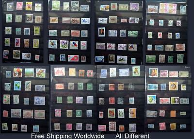 Stamp Collection Argentina Brazil Chile Mexico Bolivia Colombia Costa Rica Ext.