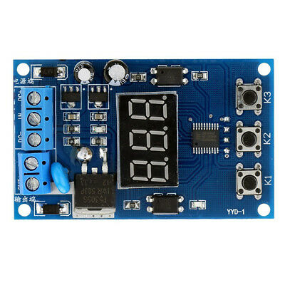 20X(MOS Control Relay Cycle Timer Module Delay Time Switch DC 12/24V U6Z4 DP