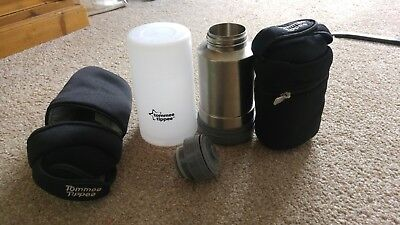 Tommee Tippee Travel flask and Insulated bags