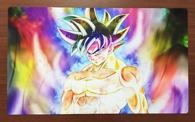 F2157 Free Mat Bag Dragon Ball Goku Trading Card Game Playmat TCG Mat Desk Mat